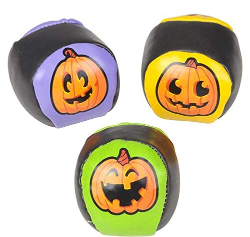 DollarItemDirect 2'' Jack-O-Lantern Kickball, Case of 288