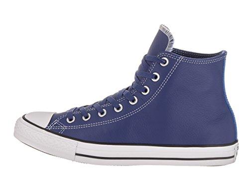 Calzado deportivo para hombre, color Azul , marca CONVERSE, modelo Calzado Deportivo Para Hombre CONVERSE CTAS HI LEATHER Azul Azul