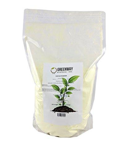 (Yellow Sulfur Powder Greenway Biotech Brand 10 Pounds)