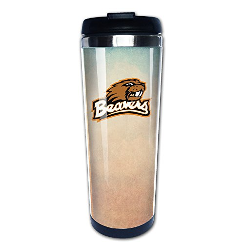 Boomy Funny Oregon State Benny Beaver Stainless Steel Travel Mug For Indoor & Outdoor Office School Gym Use