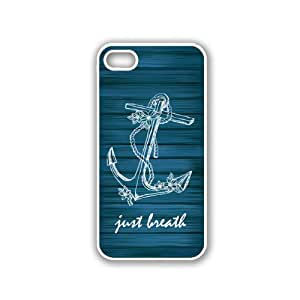 Wooden Anchor White iPhone 5 & 5S Case - Fits iPhone 5 & 5S