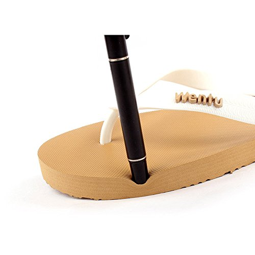 The Slipper Company Summer Male Sandals Outdoor Leisure Beach Bathroom Non-Slip Pinch Sandals 1 Y01HhB