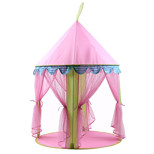 Princess Castle Pop Up Play Tent House For Girls Indoor Outdoor Kids Toy - Tent Tale Fairy