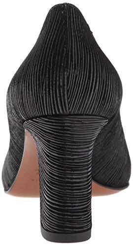 Aquatalia Womens Michaela Textured Met Clf Pump Black
