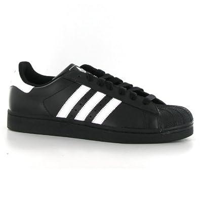 adidas superstar ii black white black