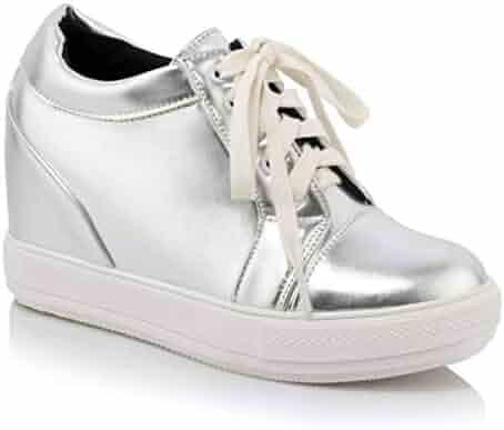 6d1677c2a46be Shopping 13 - Silver - Fashion Sneakers - Shoes - Women - Clothing ...