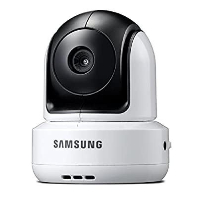Samsung SEP-1001RW Night Vision Wireless Pan Tilt Zoom Baby Monitoring Camera, White,Only Compatible with SAMSUNG SEW-3037W by Samsung