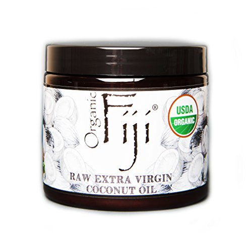 Organic Fiji  Raw Organic Coconut Oil, 13-Ounce Jars
