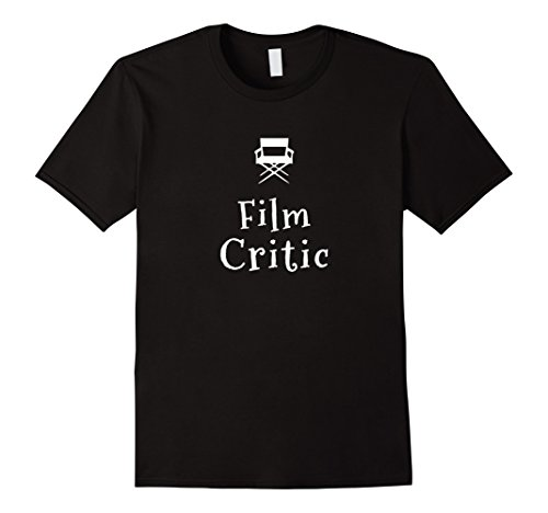 Film Critic T Shirt for Movie Lovers, Writers and Film Buffs