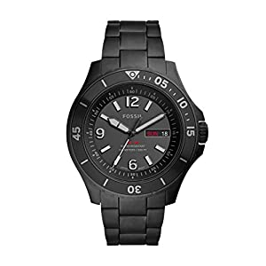 Fossil Analog Black Dial Men's Watch-FS5688