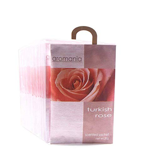 Rose Room Fragrance - YUMSUM Premium Rose Scented Sachets Bags Clothes Fragrant for Drawers Closets Room Wardrobe Bathrooms Cars,25gX8 Pack (Rose)