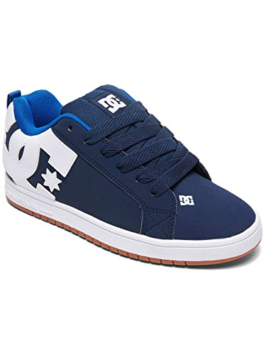 Blu Uomo Skateboard Navy royal Court navy Graffik Scarpe Dc Da wIXq0Y