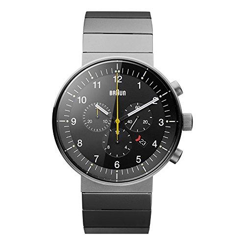 Braun BN0095BKSLBTG Prestige Chronograph Display