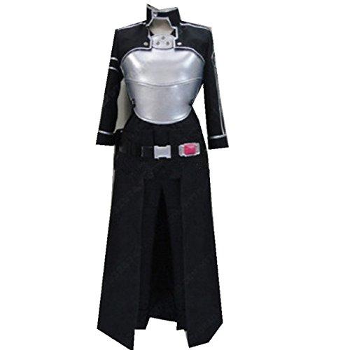 Sword Art Online 2 Phantom Bullet GGO Gun Gale Online Kirito cosplay costume Set