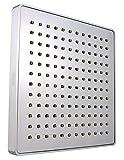 8 inch square shower head - Vida Alegría Spashower RAIN 8-Inch Square Soft Rain 2.5 GPM Shower Head (Chrome)