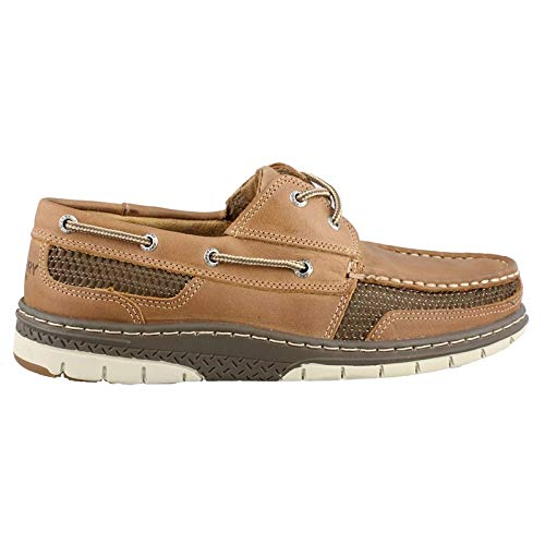 SPERRY Men's Tarpon Ultralite 2-Eye Boat Shoe, Tan, 10.5