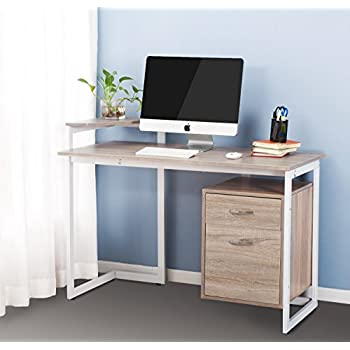 Amazon Com Merax Stylish Computer Desk Home And Office