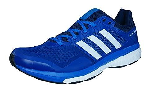 adidas Supernova Glide 8 Mens Running Sneakers / Shoes-Blue-7 - Navy Blue Slittamento