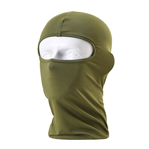 Maoko Motorcycle Outdoor Sports Hood Full Balaclava Windproof- Airsoft Riding Face Mask Hat - Goggles Online For Men Shopping
