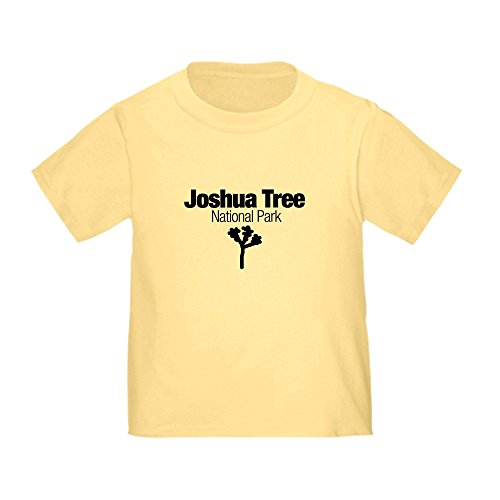 CafePress Joshua Tree National Park (Do Toddler T-Shi Cute Toddler T-Shirt, 100% Cotton Daffodil Yellow