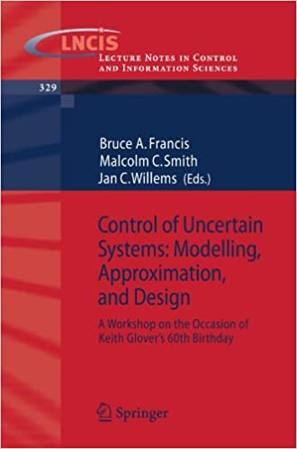 Read Control of Uncertain Systems: Modelling, Approximation, and Design: A Workshop on the Occasion of Keith Glover's 60th Birthday (Lecture Notes in Control and Information Sciences) PDF, azw (Kindle), ePub, doc, mobi