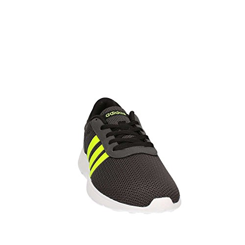 adidas Lite Racer, Scarpe da Ginnastica Uomo, Nero (Negbas/Amasol/Grpudg), 46 EU