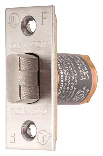 Bright Brass 3//8 Square Corner Spring Latch Allegion Dexter Commercial Hardware C2000-SL-605 C2000 Series 2,3//8 Square Corner Spring Latch