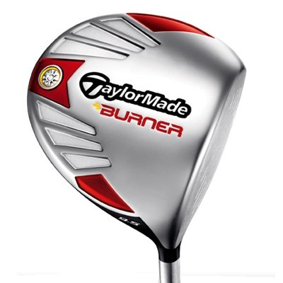 Used Taylormade 2007 Burner 460 Driver 1w 10.5* Graphite Stiff Left 45.75