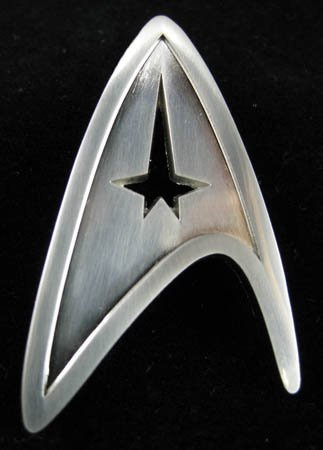 Star Trek Starfleet Command Division Badge Prop Replica (Replicas Trek Star)