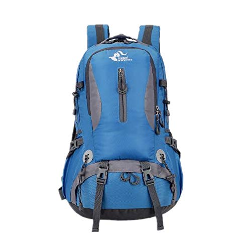 Travel Waterproof Camping Blue Bag Large Hiking Female Male Sports Capacity 50l New Outdoor Backpack Riding Mountaineering Grossartig Ra6Ix