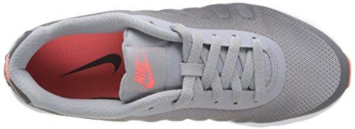 Nike Womens Air Max Invigor Stampa Scarpe Da Corsa Mango Grigio / Grigio Scuro / Bianco / Brillante, 12b-medium