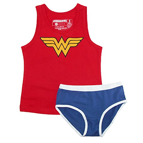 DC Comics Wonder Womans Underoos-X- Small