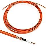Lava Cable Mini ELC Instrument Wire - Orange 25 Foot