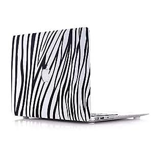 Pattern Zebra Design Matte Rubberized Hard Case Cover For Macbook Air 13 Inch