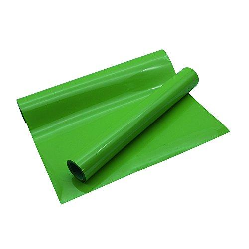 VINYL FROG Light Green Heat Transfer Vinyl DIY HTV for T-Shirts 10 Inches by 5 Feet Roll