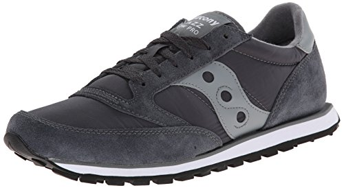 Saucony Originals Men's Jazz Low Pro Sneaker,Charcoal/Grey,13 M US