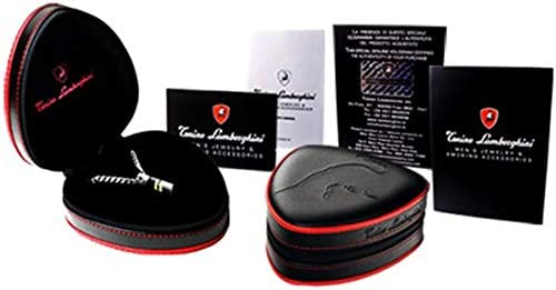 Tonino Lamborghin Pegasus TCL017020 Cufflinks//Anti-allergy//SUS316L Grade Stainless Steel//Italy Boutique