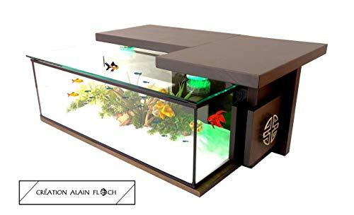 Vpa Design Table Basse Aquarium Monastik Design Alain