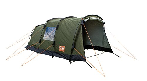 Crua Tri 3 Person Thermo Insulated Waterproof Family Tent for Luxury Winter Glamping Safari in All 4 Seasons Weather