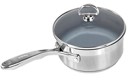 Chantal 1qt. Saucepan w/ Ceramic Coating and Glass Lid