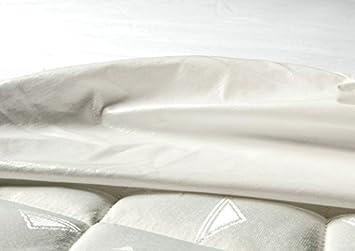 Castejo Jersey Matratzenschutzbezug mit rundum Gummi für TOPPER verschiedene Größen Höhe 5-7cm, Nässeschutz, Matratzenschoner, Hygieneschutzbezug mit PU Beschichtung, Inkontinenz, CA74 (80x200x5-7cm) Nässeschutz