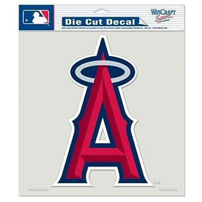 "Los Angeles Angels of Anaheim Die-Cut Decal - 8""x8"" Color"