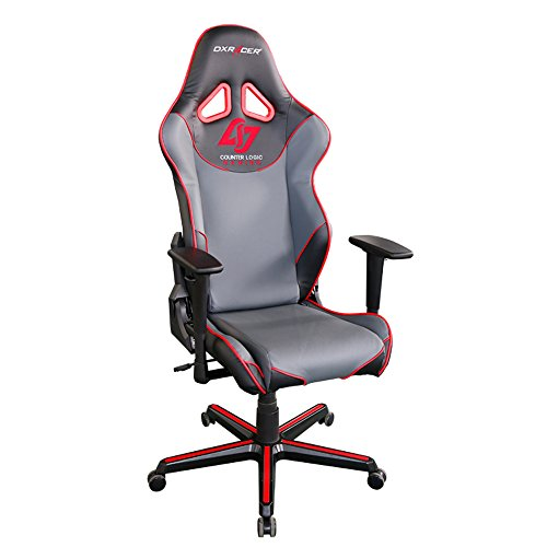 413mPgbGvjL - DXRacer-Racing-Series-CLG-Counter-Logic-Gaming-Racing-Bucket-Seat-Office-Chair-Gaming-Chair-Ergonomic-Computer-Chair-Desk-Chair-Executive-Chair-With-Pillows