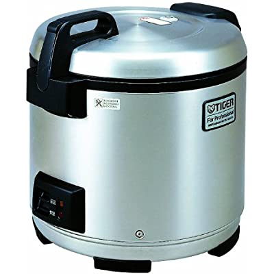 Click for Tiger JNO-A36U-XB 20-Cup (Uncooked) Commercial Rice Cooker and Warmer, Stainless Steel Black