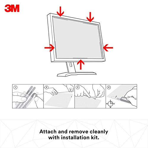 3M Privacy Filter for 34'' Widescreen Monitor (21:9) (PF340W2B) (Renewed) by 3M (Image #3)