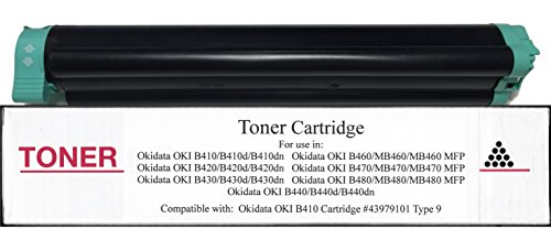 - New 43979101 Toner Cartridge Ccmpatible with Okidata OKI B410 B410d B410dn B420 B420d B420dn B430 B430d B430dn B440 B440d B440dn B460 MB460 MB460-MFP B470 MB470 MB470-MFP OKI B480 MB480 MB480-MFP