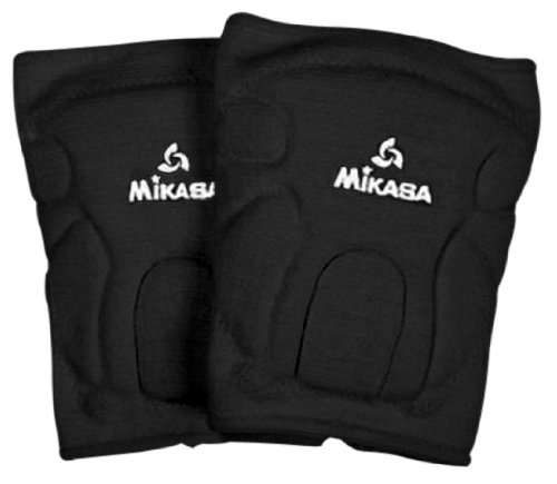 Mikasa 832JR Competition Antimicrobial Kneepad, Black
