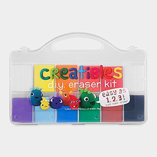 Clay Eraser Set of 12