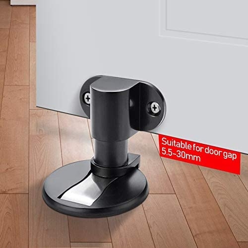 Adjustable Magnet Door Stops Stainless Steel Door Stopper Magnetic Door Holder Toilet Glass Door Doorstop Furniture Hardware Color : Adjustable G B