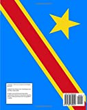 Flag of the Democratic Republic of the Congo Notebook: College Ruled Writers Notebook for School, the Office, or Home! (8 x 10 inches, 120 pages)